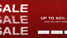 《HBX 優惠》-  季尾優惠精選減價貨品低至5折+ 免運費 (優惠至12月26日)
