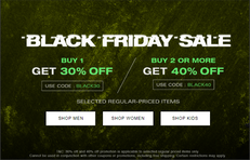 《HBX 黑色星期五優惠》-  購買1件貨品即享7折優惠+ 免運費 (優惠至11月30日)