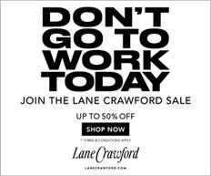 《Lanecrawford 優惠》- 限時優惠低至5折 (優惠至2021年6月18日)