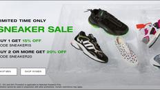 《HBX 優惠》- 購買精選運動鞋 1對85折/2對或以上8折 (優惠至20年1月15日)