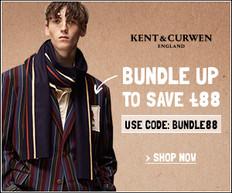 【Kent & Curwen優惠】 - 買外衣及特選貨品慳£88 (優惠到18年4月22日)