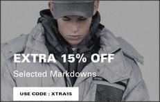 《HBX 聖誕優惠》- 減價貨品再額外享85折優惠+免運費 (優惠至12月29日)