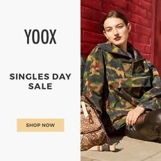 【YOOX 雙11優惠】精選雙11減價貨品低至45折+免運貨 (優惠至2020年11月12日)