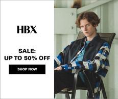 《HBX 優惠》- 全場正價貨品享85折優惠 + 免運費 (優惠至7月2日)