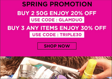 【GLAMGLOW 優惠】-  購買兩件50G面膜可享8折 (優惠到20年4月30日)