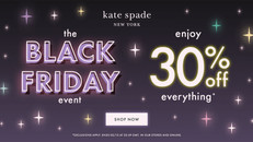 【Kate Spade Black Friday優惠】- 全場貨品7折優惠 (優惠至12月2日)