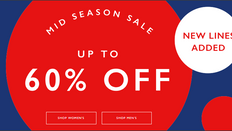 《JACK WILLS Mid Season優惠加碼》- 全場貨品低至4折優惠