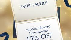 【Estee Lauder 優惠】- 新用戶購買任何產品可享85折 (優惠至2021年6月30日)