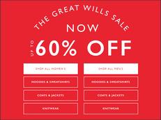 《JACK WILLS 新年優惠》- 全場特選貨品低至4折優惠 (優惠至19年1月13日)