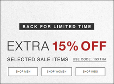 《HBX 優惠》- 精選減價貨品額外85折 + 免運費