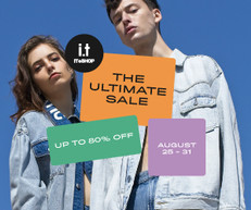 《ITeShop 激安 THE ULTIMATE SALE 減價優惠》精選減價貨品低至2折 (優惠至2020年8月31日)