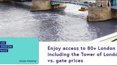 《London Pass City Go Pass 優惠》London Pass倫敦卡 低至94折 GoCity Pass 低至9折(優惠至10月31日)