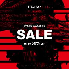 《ITeSHOP 優惠》I.T/i.t: 購買精選SS21減價產品低至2折 購買2件產品可享額外85折 (優惠至2021年6月14日)