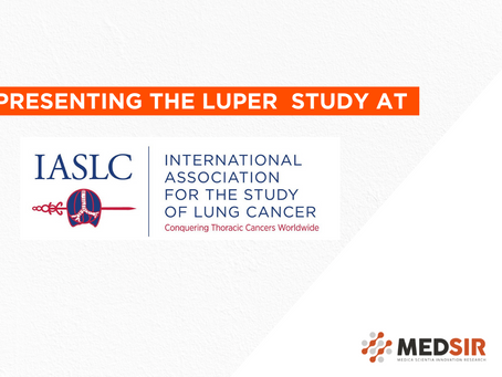 IASLC 2020 World Conference on Lung Cancer: LUPER initiated trial to be presented