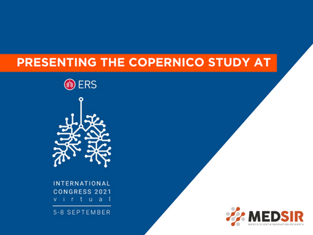 COPERNICO Results at ERS: immunotherapy combo reduces hospitalization for COVID-19 pneumonia