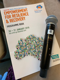 Proud to present and have our skit performed at Mental Health Conference 2019