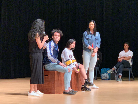 Interactive Theatre as part of Beyond The Label campaign.jpg