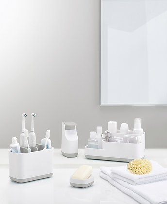 EasyStore Toothbrush Caddy Large - Grey