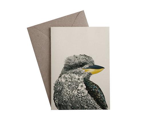 MW Marini Ferlazzo Birds Greeting Card Kookaburra