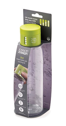 Dot Hydration-Tracking Bottle - Green