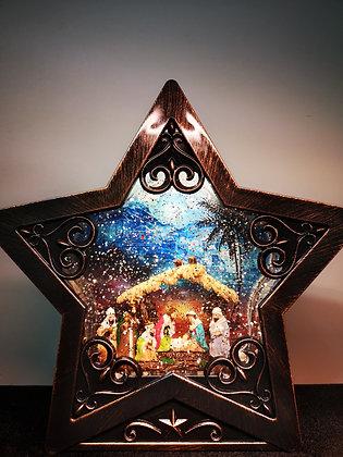 XMAS LAMP STAR NATIVITY