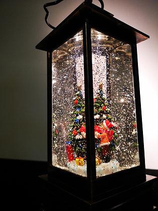 XMAS LAMP SQUARE TREE
