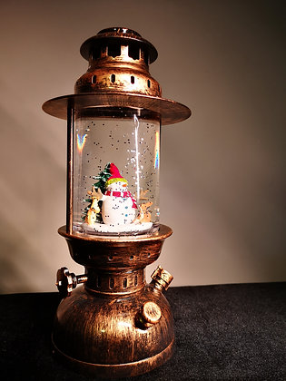 XMAS LAMP HANDLE SNOWMAN (No music)