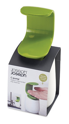 Cpump Single Hand Soap Dispen-White/Green