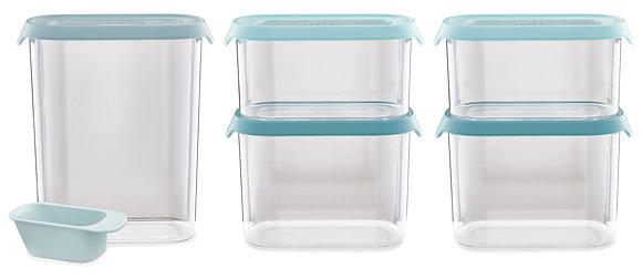 CupboardStore 5-piece FoodStorageSet-Opal