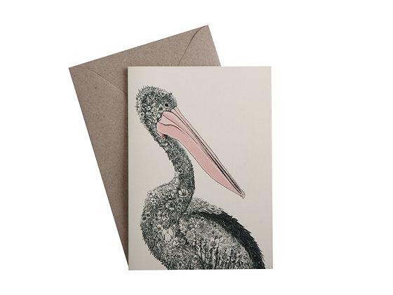 MW Marini Ferlazzo Birds Greeting Card Pelican