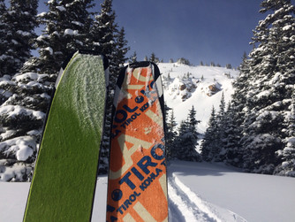ski tours and skin testing.