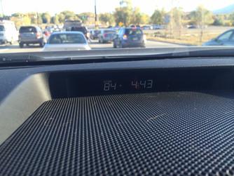 84 degrees...