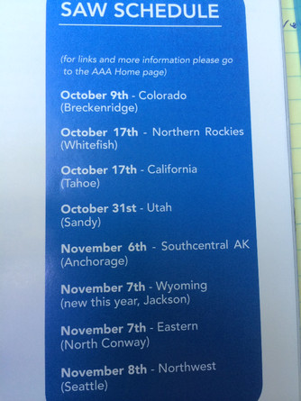 SAW Schedule