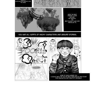 Dear Me graphic novel page 8