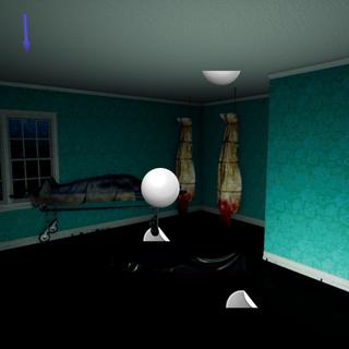 Alone attic interior of house in level