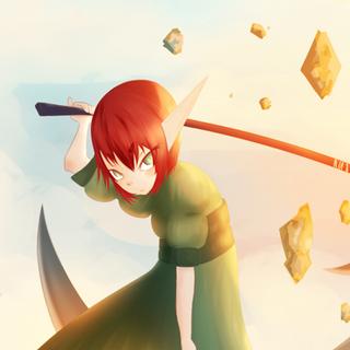 Elis character concept art