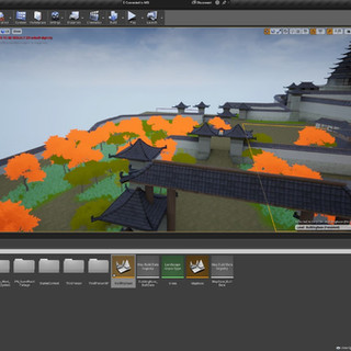 Environment level design in UE4