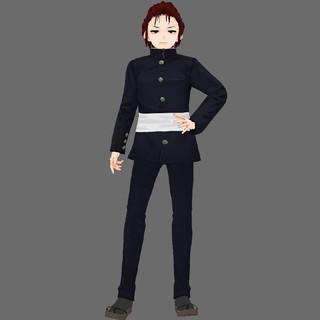Male Guard character model