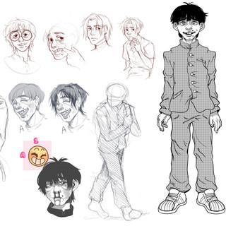 Dear Me concept art sketches