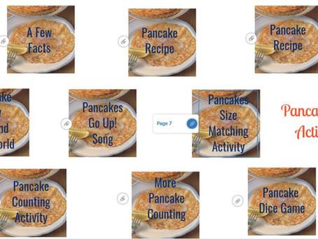 Pancake Day Activities