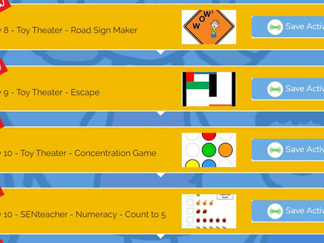 Many New Resources on Seesaw Page.