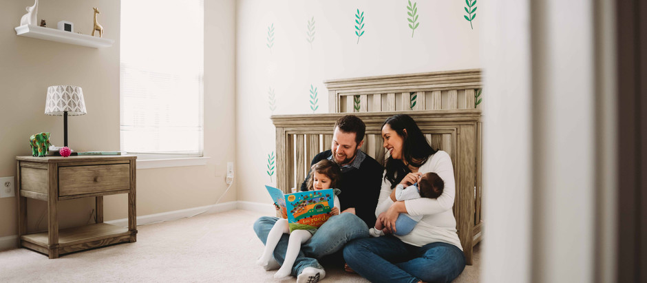 Welcome Philippe! | Newborn Lifestyle Session | Northern Virginia Family Photographers