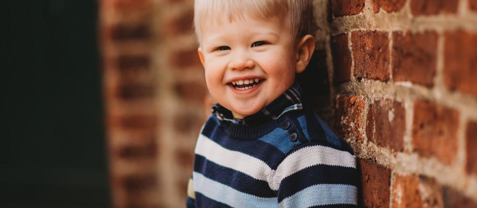 Happy Birthday, Remington! | Old Town Alexandria Family Photographers