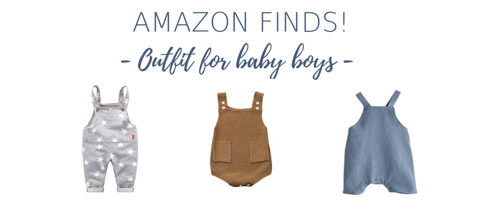 Amazon Finds! Outfits For Baby Boys