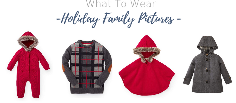 What To Wear For Your Holiday Family Pictures