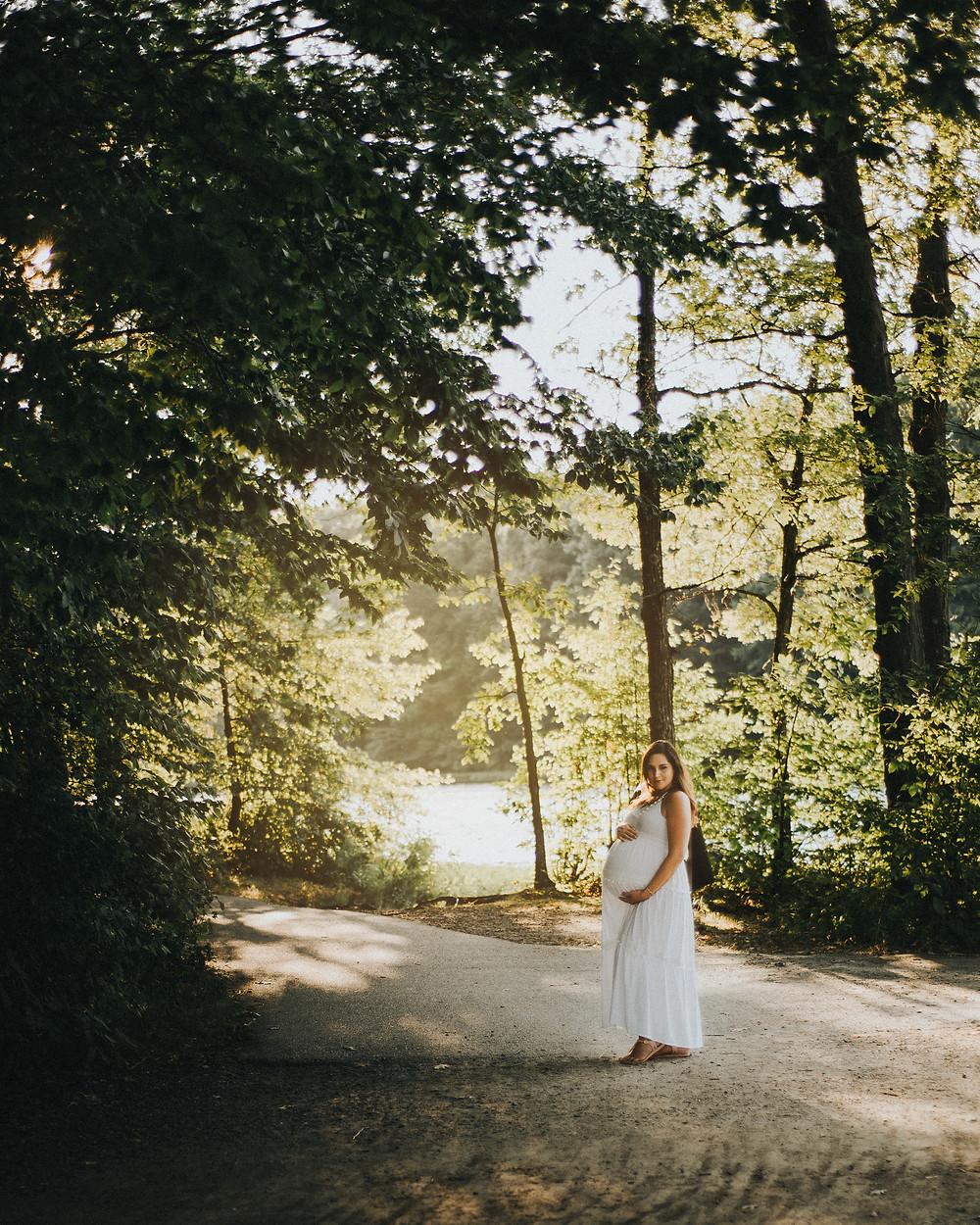 Burke Lake Park, Maternity Photography