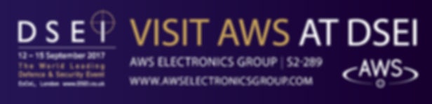 AWS at DSEI Banner