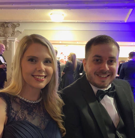 Katie Walker (PR & Marketing Manager), William Edge (Apprentice)