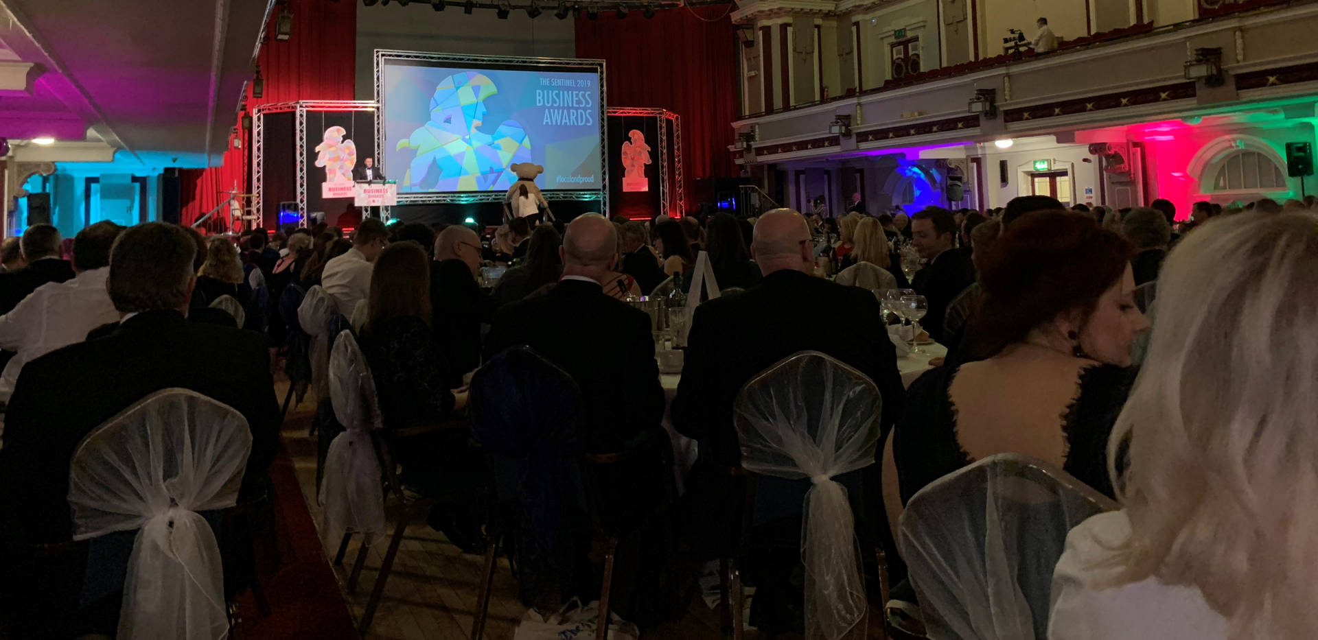 Inside The Sentinel Business Awards, King's Hall, Stoke