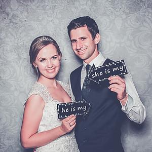 Fotobox Jennifer & Thomas